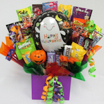 Trick or Treat Balloon Candy Bouquet