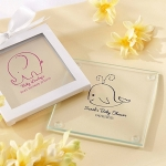 Personalized Baby Shower Coaster Favors (Set of 12)