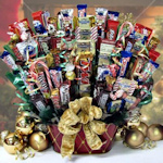 All that Glitters is Gold Candy Gift Basket