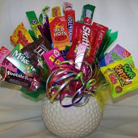 Golf Ball Candy Planter image