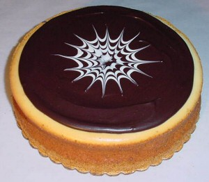 Chocolate Topped New York Style Cheesecake image