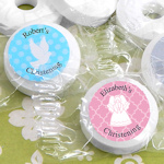 Personalized Mint Life Savers Baptism Favors