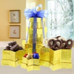 Galaxy Chocolate Star Gift Tower