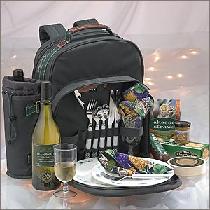 Portable Gourmet Wine Picnic Pack image