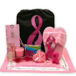 Be Aware and Show You Care Breast Cancer Gift Tote