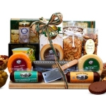 Ultimate Gourmet Nut and Sausage Board