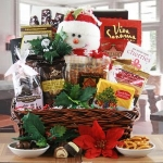 Frostys Favorites Basket of Goodies