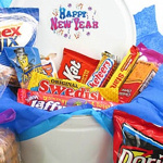New Year Cookie & Goodie Gift Tin