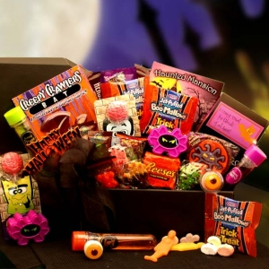 Haunted Coffin of Halloween Goodie Box imagerjs