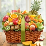 Tropical Abundance Fruit Gift Basket