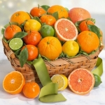 Sweet Sunshine Citrus Basket