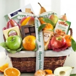 Christmas Holiday Fruit Basket