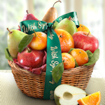 Sympathy Fruit Favorites Basket
