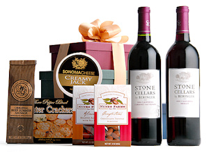 Savory Foods and Wine Tower imagerjs