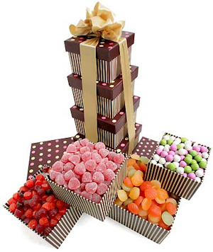 Polka Dot Sweets Gift Tower imagerjs
