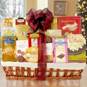 Holiday Office Party Gift Basket imagerjs