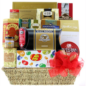 Grand Indulgence Gift Basket imagerjs