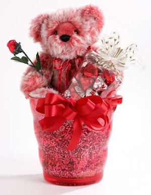 Red Sweetheart Valentine Bear image