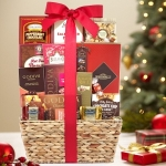 Decadent Holiday Chocolates Gift Basket