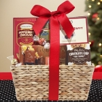 Chocolate Celebration Christmas Gift Basket