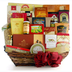 Corporate Extravaganza Gift Basket imagerjs