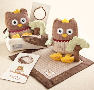'My Little Night Owl' Five Piece Gift Set imagerjs