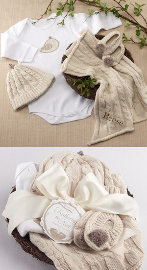 Feathering The Nest Four Piece Layette Gift Set imagerjs