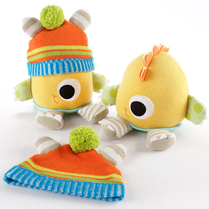 Clyde the Closet Monster Baby Hat & Plush Toy Gift Set imagerjs