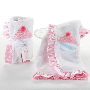 Baby Cakes Cupcake Themed Baby Blanket imagerjs