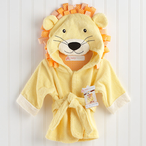 Big Top Bath Time Lion Hooded Spa Robe imagerjs