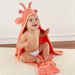 Lobster Laughs Hooded Towel