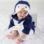 Wash & Waddle Penguin Hooded Spa Robe