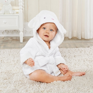 Love You Lamb Hooded Spa Robe imagerjs
