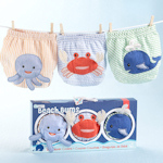 Beach Bums 3-Piece Diaper Cover Gift Set (2 sizes)