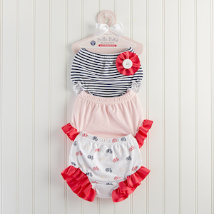 'Belle Bebe Bloomers' Set of 3 Bloomers for Baby imagerjs