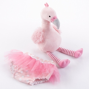 Fancy Pants Plush Flamingo and Bloomer imagerjs