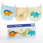 Dino-Mite Diaper Cover Gift Set