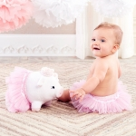 Princess Penelope Plush Pig with Bloomer for Baby