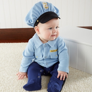 Big Dreamzz Baby Police Officer Layette Set imagerjs