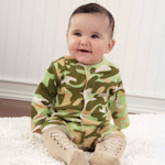 Baby Camouflage Layette Set