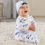Little Man Baby Pajama Gift Set