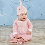 Let The Fin Begin Two-Piece Layette Set