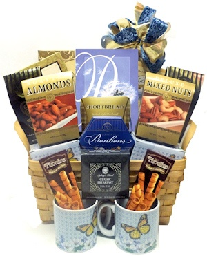 With Deepest Sympathies Gift Basket imagerjs