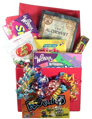Candy Wishes Book Basket imagerjs