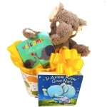 Elephants Everywhere Baby Books Gift Box