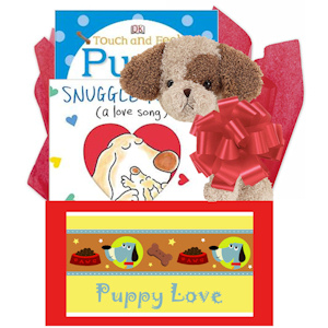 Puppy Love Baby Books Gift Box imagerjs
