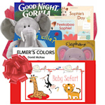 Safari Themed Baby Gift Basket