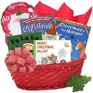 Christmas Books for Baby Gift Basket imagerjs