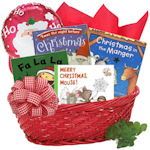 Christmas Books for Baby Gift Basket