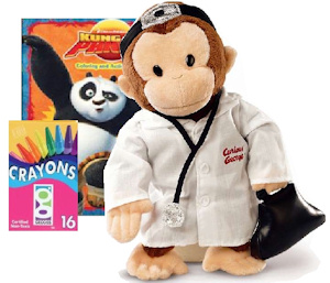 Doctor Curious George Get Well for Kids imagerjs
